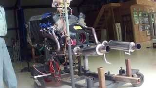 StangNet 67 Project Ford 428 CJ FE Run Stand Startup