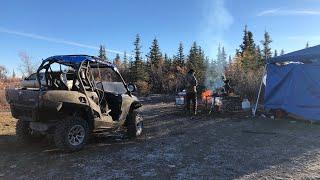Camping Hunting in Alaska part.1