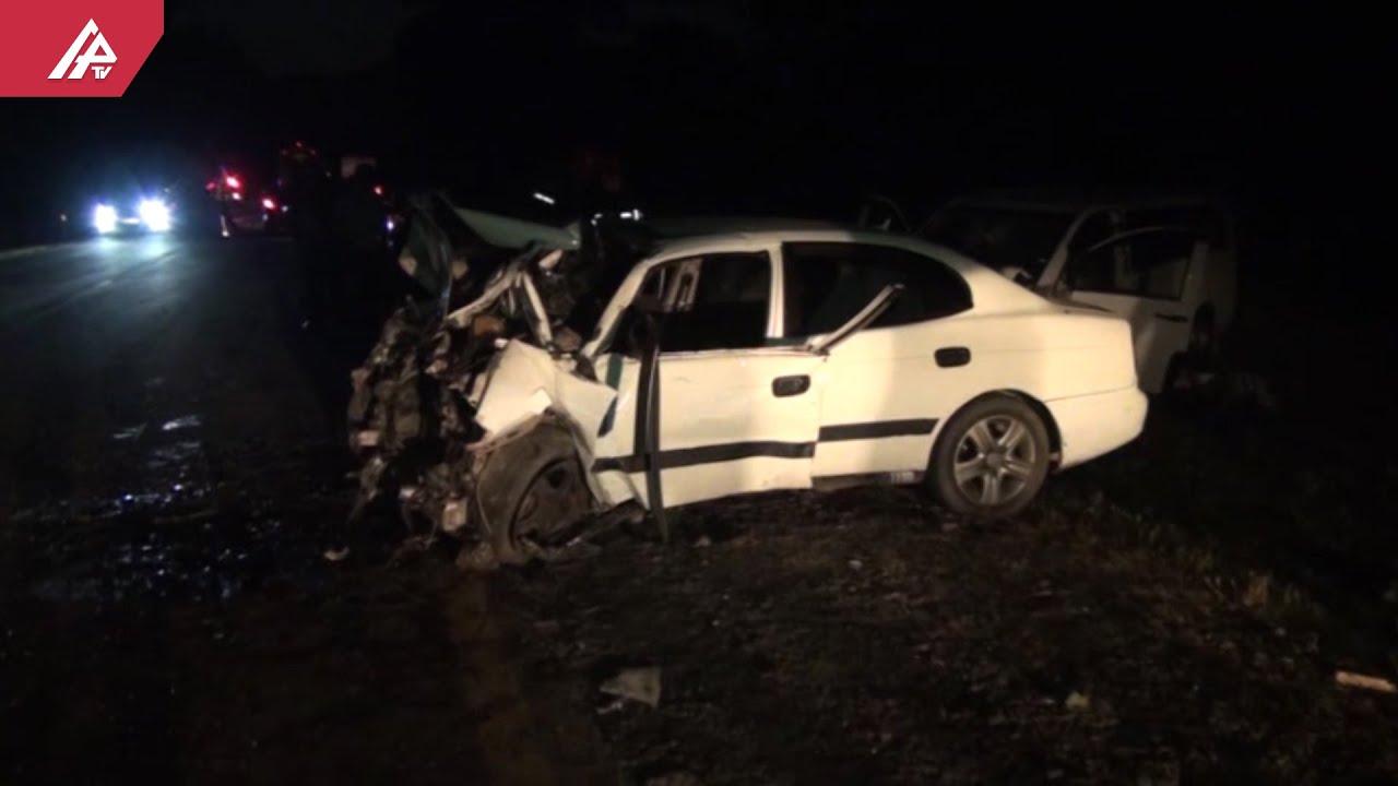 Qaxda 57 yaşlı piyadanı avtomobil vurdu