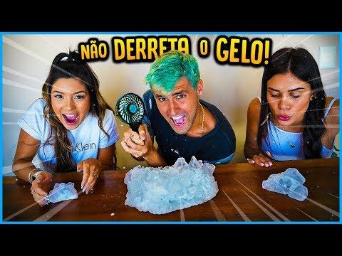 ÚLTIMO A DERRETER O GELO GANHA 5000 R$!! [ REZENDE EVIL ]
