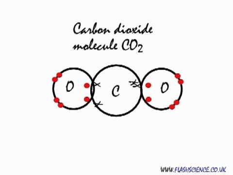 Double Bond Electron Dot Diagram Gio 50cc Atv Wiring Covalent Bonding In A Carbon Dioxide Molecule. - Youtube