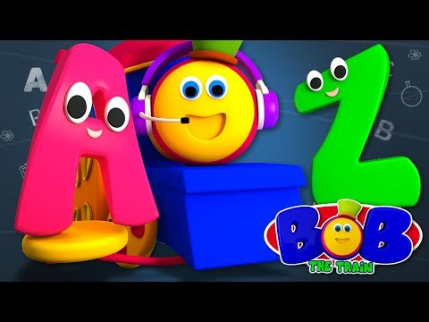 Bob The Train | Nursery Rhymes For Babies | Kindergarten Cartoons