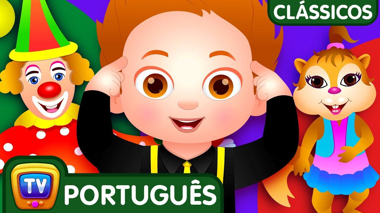 Cabeça, Ombros, Joelhos e Pés (Head, Shoulders - Dance) | Canções Para Crianças | ChuChuTV Clássicos