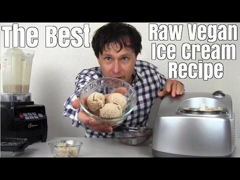 Raw Vegan Ice Cream Recipe that Tastes Like the Real Thing