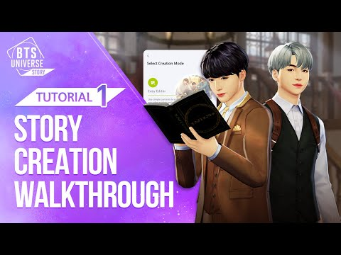 [Guide #1] Learn How to Create Stories! (BTS Universe Story)