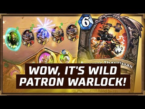 WOW, It's Wild Patron Warlock! | The Boomsday Project | Hearthstone