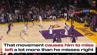 Why Kyle Kuzma is struggling to shoot threes this season