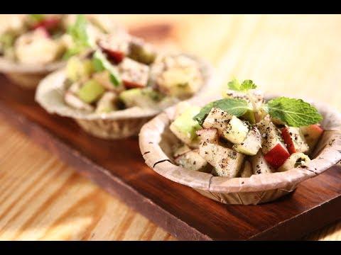 Apple Chaat | Apple Tasty Delight | Sanjeev Kapoor Khazana