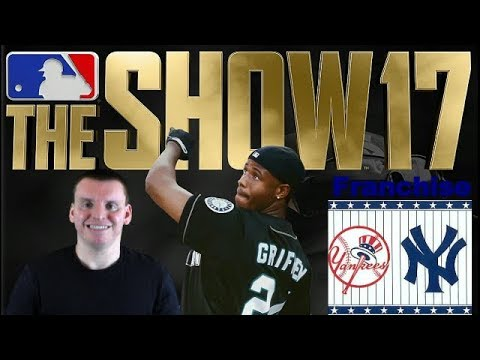 MLB The Show 17 (PS4) Franchise as Yankees 2024 World Series Game 1