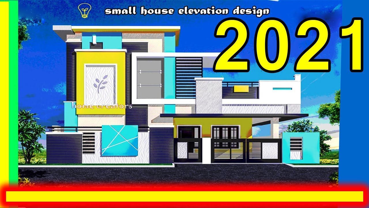 South Indian House Front Elevation Designs Indian House Elevation Single Floor Home Design Idea Youtube