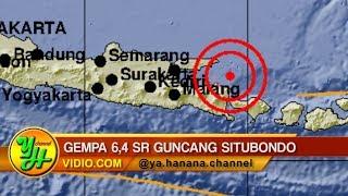 Download Video Gempa 6,4 SR Guncang Situbondo, Getaran Terasa Sampai ke Bali Hingga Surabaya! MP3 3GP MP4