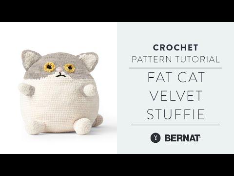 Bernat Fat Cat Crochet Stuffie, Version 2 | Yarnspirations | 360x480