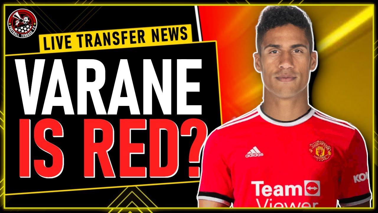 VARANE to Man United NEXT DONE DEAL ✓ Man Utd Transfer News - YouTube