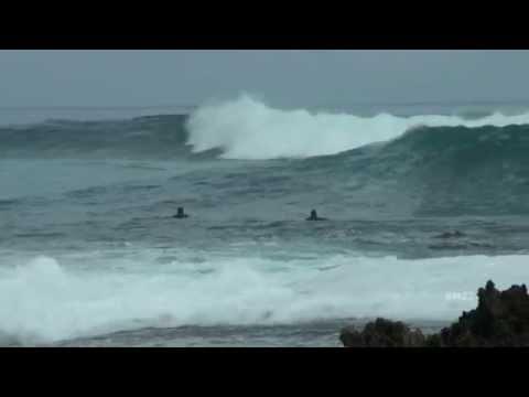 North Shore Big Waves at Turtle Bay Oahu Hawaii
