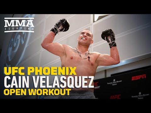 UFC Phoenix: Cain Velasquez Open Workout Highlights - MMA Fighting