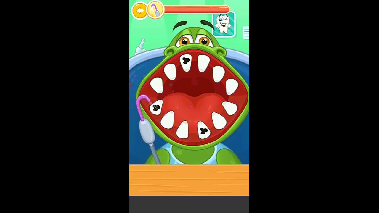 fb7a65667 جودي - لعبة دكتور الأسنان - حلقة التمساح - YouTube