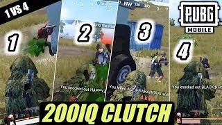 Top 10 clutch in pubg mobile- #mortal #dynamo #cosmic #rolex #biubiu #kronten #nova