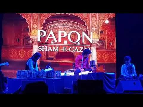 Papon Song Singing Gazal In English In Pune Live Concert