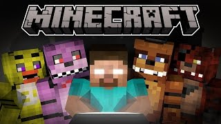 - Minecraft Мультики ХЕРОБРИН ПРОТИВ 5 Ночей с Фредди Майнкрафт анимация