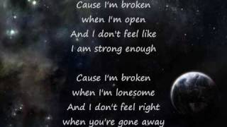 Seether - Broken (Acoustic) Lyrics