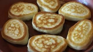 ОЛАДЬИ НА КЕФИРЕ из Овсяных Хлопьев и Пшеничной муки.Оладушки Пышные /Oatmeal Pancakes