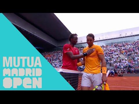Highlights || Rafa Nadal VS Gael Monfils: Así fue la victoria de Rafa en el Mutua Madrid Open 2018