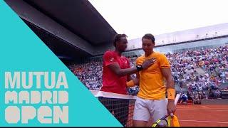Rafa Nadal - Gael Monfils Highlights
