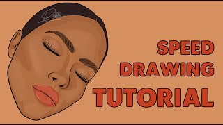 Hello Youtube! Here's my first tutorial/speed drawing video. Thanks for watching, don't forget to leave a comment below. Subscribe!