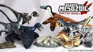 Unboxing & Review of Beasts of the Mesozoic Raptor Series - Nestlings & Accessory Packs Toys