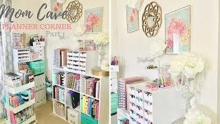 Craft Room/Mom Cave ~ Planner Corner Pt.1