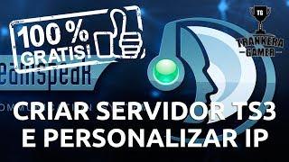 Criar servidor TS 3 e personalizar IP - TS3 Admin #1 - ( 2017 )