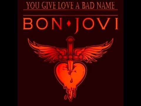 Bon Jovi - Anastacia ♪ ♫ ♬  You Give Love A Bad Name  ♬ ♫ ♪  MashUp - Lyrics