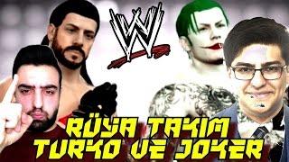 Burak Oyunda (JOKER) ve Ümidi (TURKO) vs. Krallar | WWE 2K16 | Ps4