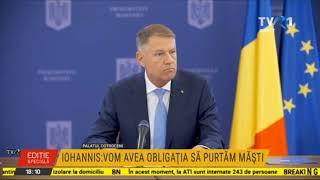 Conferinţă de presă Klaus Iohannis - 28 aprilie