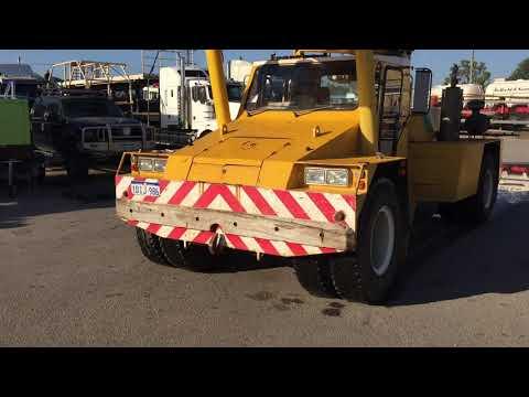 GA0587 - 1996 Franna AT16 Non Slewing Mobile Crane
