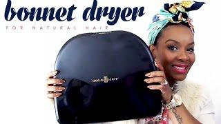 NATURAL HAIR | Bonnet Dryer by GoldNHot