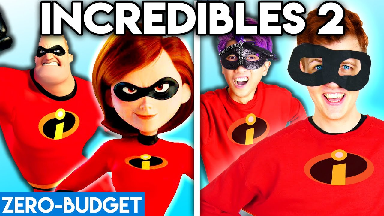 Download INCREDIBLES 2 WITH ZERO BUDGET! (Incredibles 2 Movie PARODY)