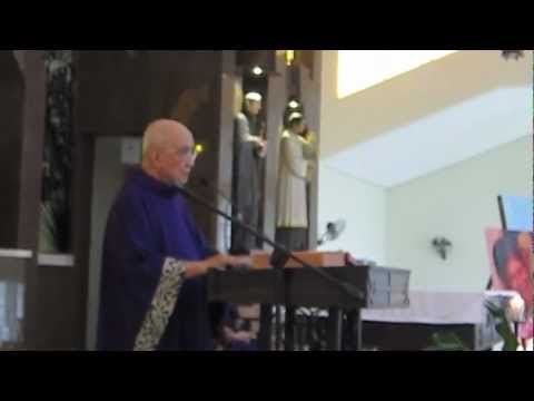 Fr Joaquin Bernas' Homily for Angelica Mar 3 2013 (Inay or Angge Soriano)