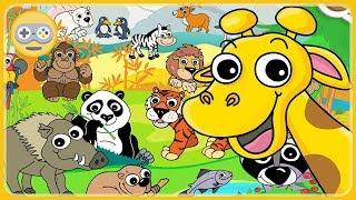 Про животных для детей - Путешествие по континентам мира * Lipa Zoo - мультик игра для малышей