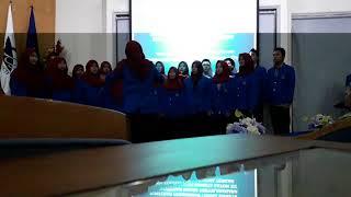 Paduan Suara Mahasiswi UMP Mars Muhammadiyah Bikin Merinding