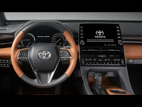 Superior 2019 Toyota Avalon Interior