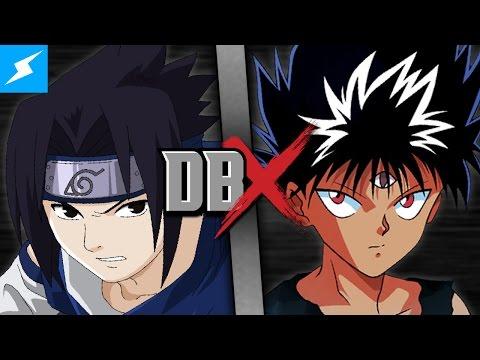 Sasuke VS Hiei (Naruto VS Yu Yu Hakusho) | DBX