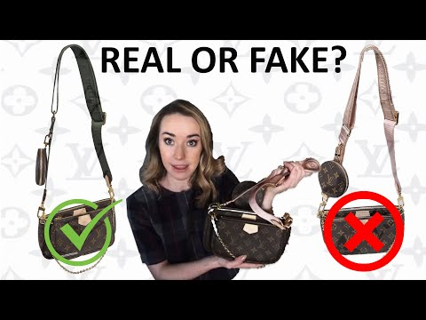 REAL OR FAKE?! Louis Vuitton Multi Pochette Accessoires