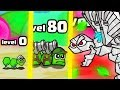 IS THIS THE STRONGEST HIGHEST LEVEL INSECT EVOLUTION? (9999+ ANT ARMY) l Battlepillars New Game