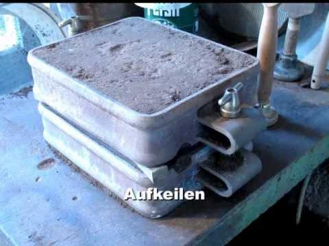 Giesserei: Sandformen mit Naturformsand - von Dr. Bastian Asmus