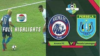 Arema FC (1) vs (0) Persela Lamongan - Full Highlight | Go-Jek Liga 1 Bersama Bukalapak