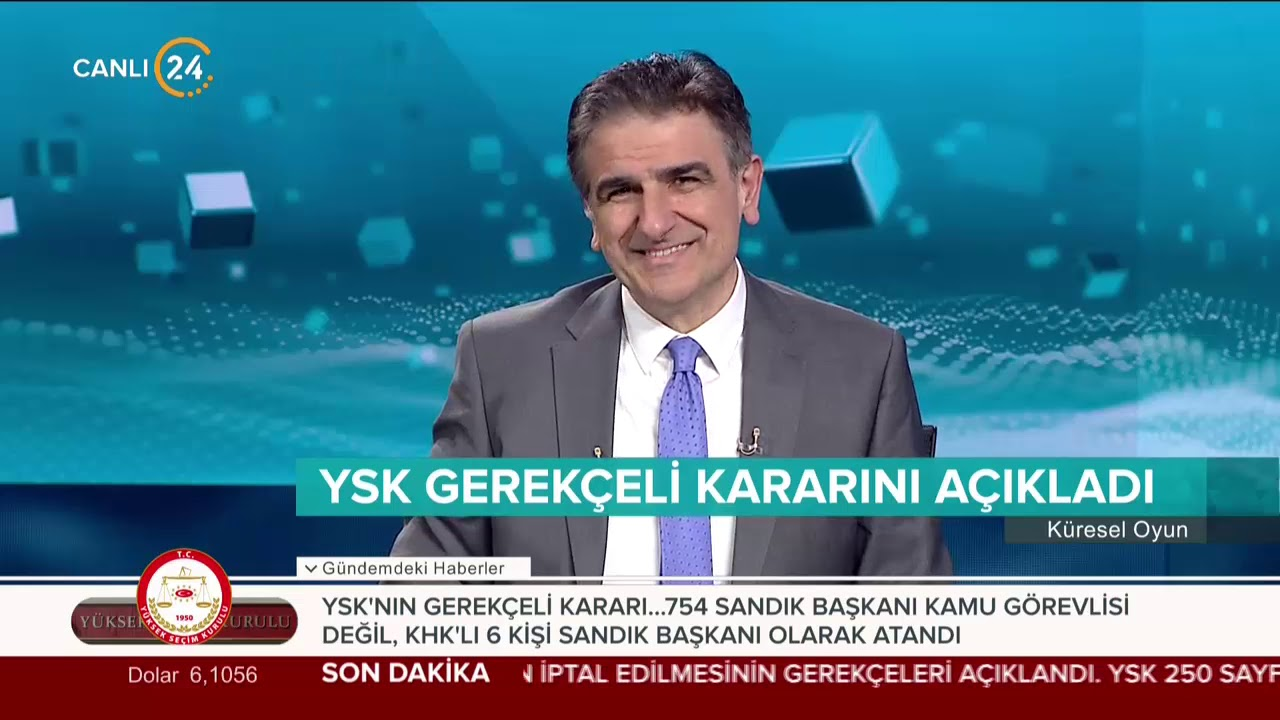 Selim Atalay ile Küresel Oyun (22.05.2019)