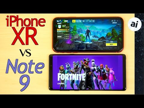 Fortnite: 60 FPS on iPhone XR vs 30 FPS on Note 9! thumbnail