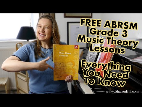Grade 3 ABRSM Music Theory   Everything You Need To Know With Sharon Bill