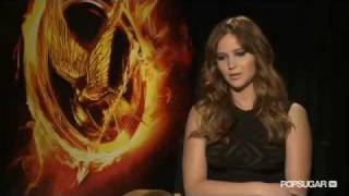 jennifer lawrence on becoming katniss for the hunger games from district sugar popsugar